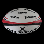 GILBERT Ball Trainer - POPSHOP Rugby Values